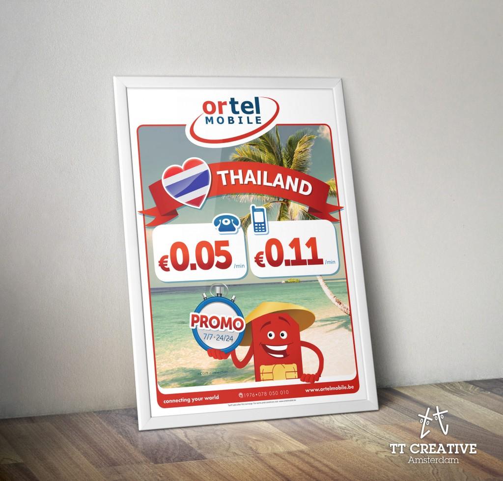 Ortel Mobile Thailand Tariff